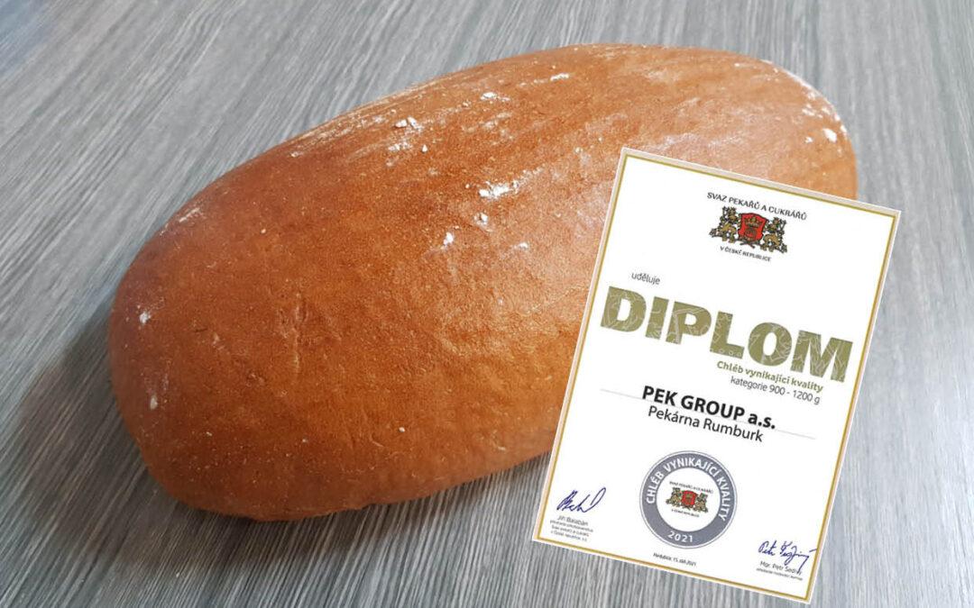 Chléb vynikající kvality